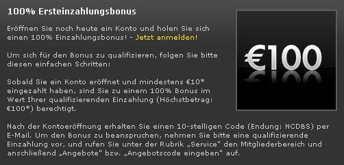 Bet365 Wettbonus