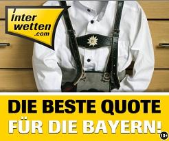 Interwetten Promo Bestquote Bayern