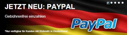 Paypal bei Sportingbet