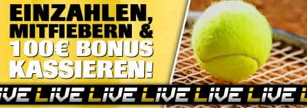 Tennis Bonus Interwetten Promo