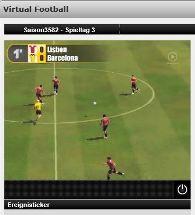 Sportwetten virtuell bei Interwetten