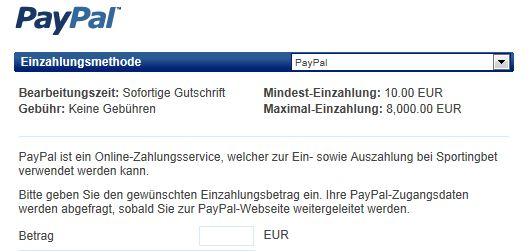 Paypal Auszahlung Kosten