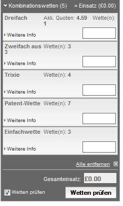 Ladbrokes Wettschein