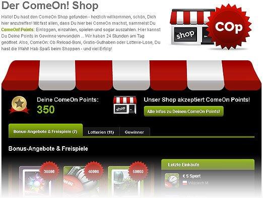 ComeOn Shop