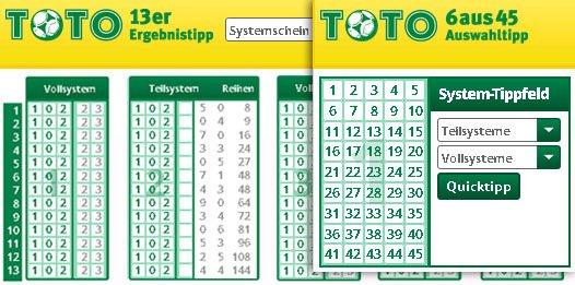 Toto 13er Wette System Erklärung