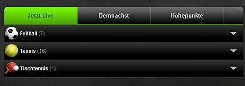 Mobilbet mobile Livewetten