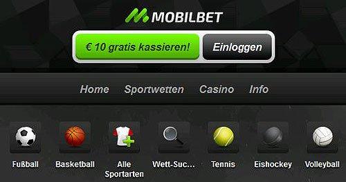 Mobilbet Sportwetten