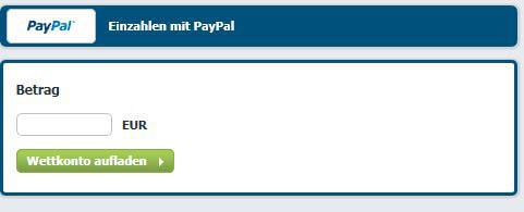 Paypal beim Wettanbieter Bet-at-home