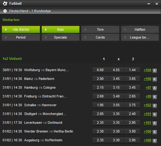 Fußball Wettprogramm Netbet Ausschnitt