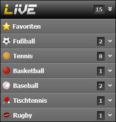 Interwetten Livewetten Sportwettentest