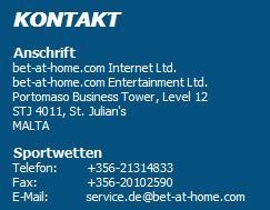 bet at home deutschland kontakt
