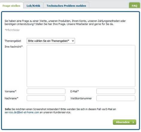 bet-at-home-kundenservice-kontaktformular