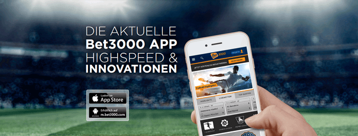 Bet3000 app mobile devices
