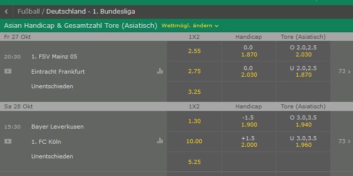 was ist asian handicap