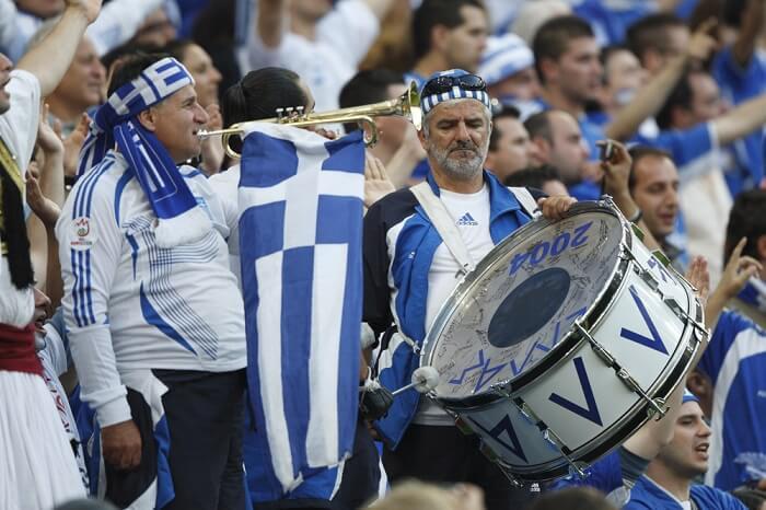 Fußball EM 2004 Griechenland