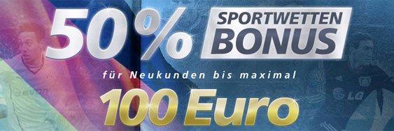 Sportingbet Wettbonus 100 Euro