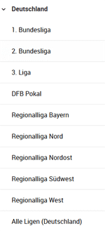 Deutscher Fußball im Unibet Wettprogramm