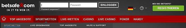 Betsafe-anmeldung-homepage