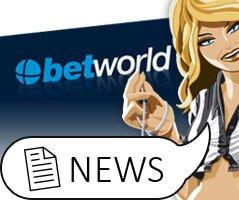 Betworld spendiert 5€-Startguthaben für Champions League Wetten