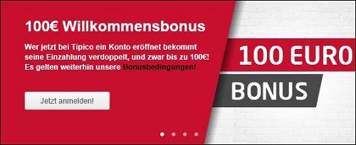 tipico 100 bonus