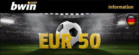 bwin 50 euro bonus