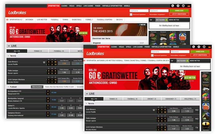 Ladbrokes Website 2015