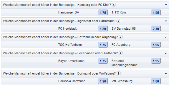 Mybet Bundesliga Wetten