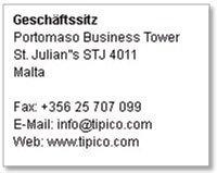Tipico Kundendienst Kontaktdaten
