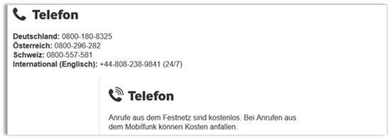 Betway Kundenservice Hotline