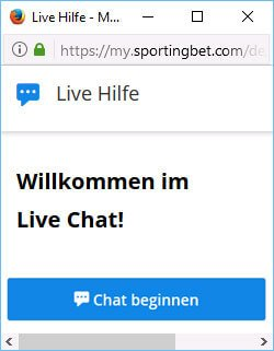 Sportingbet Livechat
