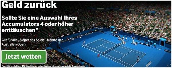 Australian Open Wetten bei Betway