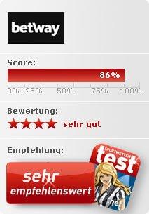 Betway Sportwetten Test Bewertung