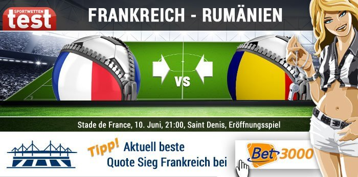 EM 2016 Frankreich gegen Rumänien