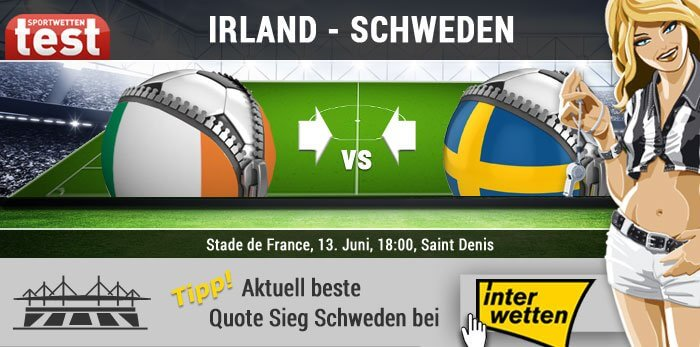 EM 2016 Irland gegen Schweden