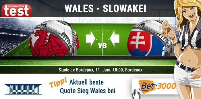 Wettquoten Wales Belgien