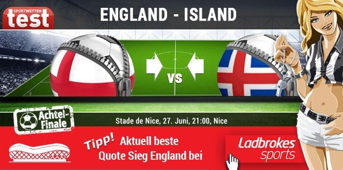 EM 2016 England gegen Island