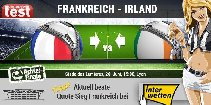 EM 2016 Frankreich gegen Irland