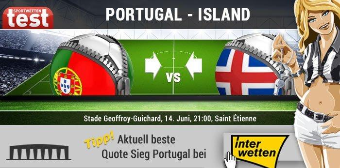 EM 2016 Portugal gegen Island