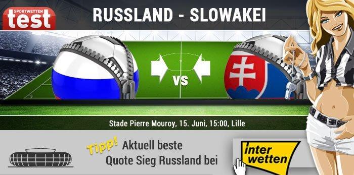 EM 2016 Russland gegen Slowakei