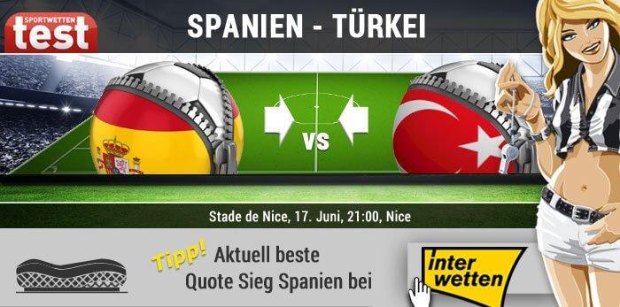 Wettquoten Spanien Tschechien