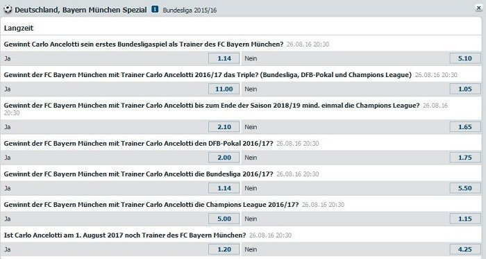 Bet-at-Home Ancelotti Special