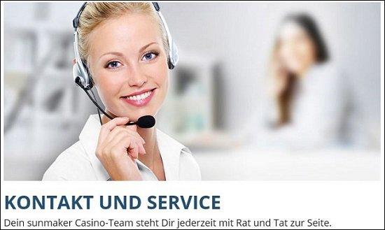 Sunmaker Kundendienst