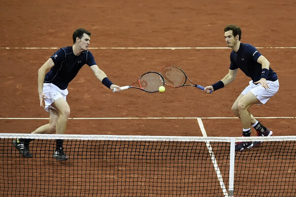 Tennis Doppel Murray