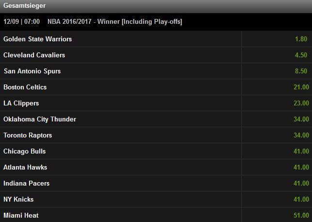 Mobilbet Basketball Wetten