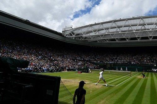 Wimbledon - Rasen Tennis Belag