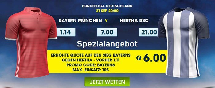 Bundesliga Superquote William Hill