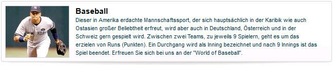 William Hill Baseball Wetten