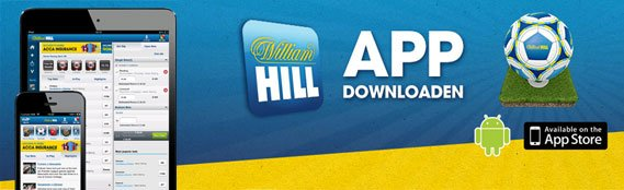 William Hill mobile Wetten app im Sportwetten Test