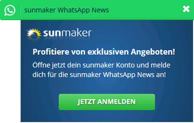 Sunmaker WhatsApp Nachrichtendienst