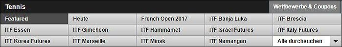 Betfair Tennis Wetten